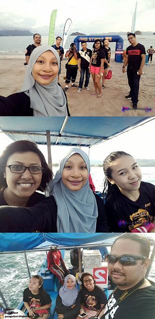 Kemeriahan Pesta Pantai dan Tanjung Rhu Swim Fest 2016
