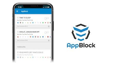 AppBlock dapat digunakan untuk mengontrol penggunaan aplikasi secara berlebihan