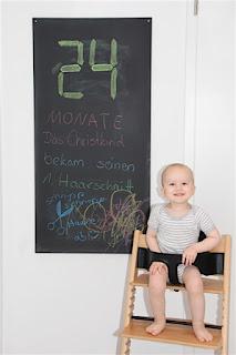 Tafelbild 24 Monate Christkind