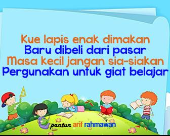 Pantun Nasehat Belajar untuk Anak SD, SMP dan SMA ...