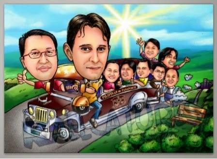Kaelcatures Jeepney