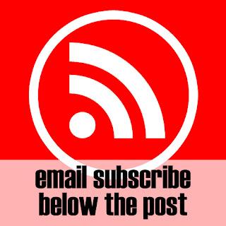 Responsive Email Subscribe di Bawah Posting