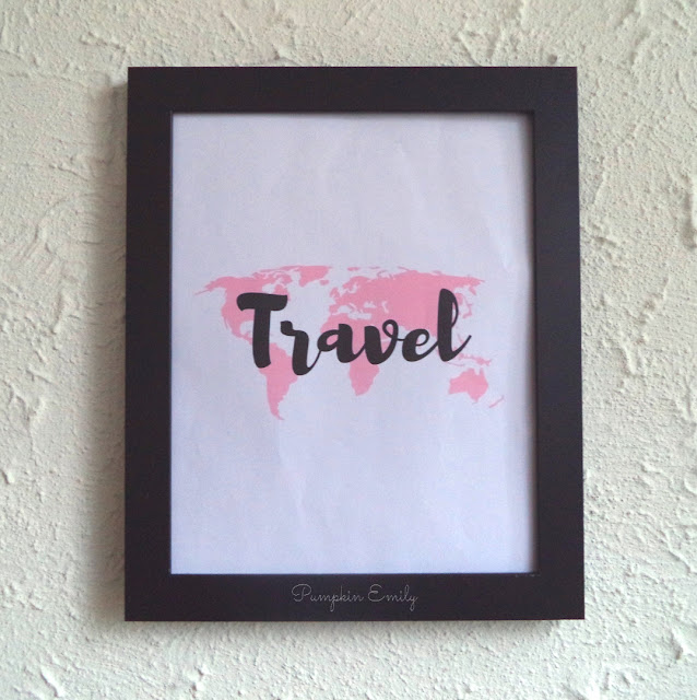 DIY Travel Wall Art