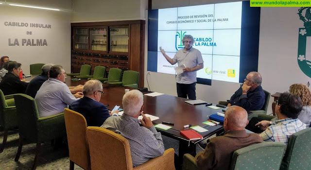 El Cabildo da los primeros pasos para reformar el Consejo Social de La Palma