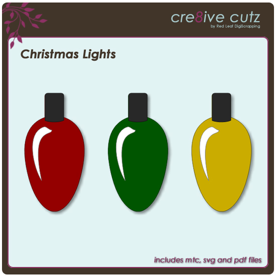Free Christmas Lights Svg.Cre8ive Cutz 3d Svg Cutting Files For Electronic Cutting