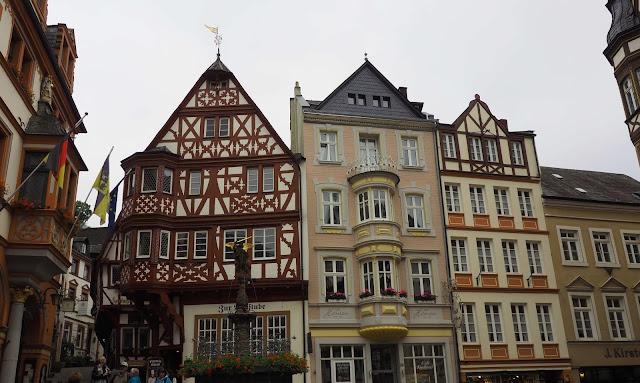 Saksa, Mosel, ristikkotalot