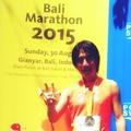 ・・・‥‥2015 8月30日 バリ国際マラソン‥‥・・・