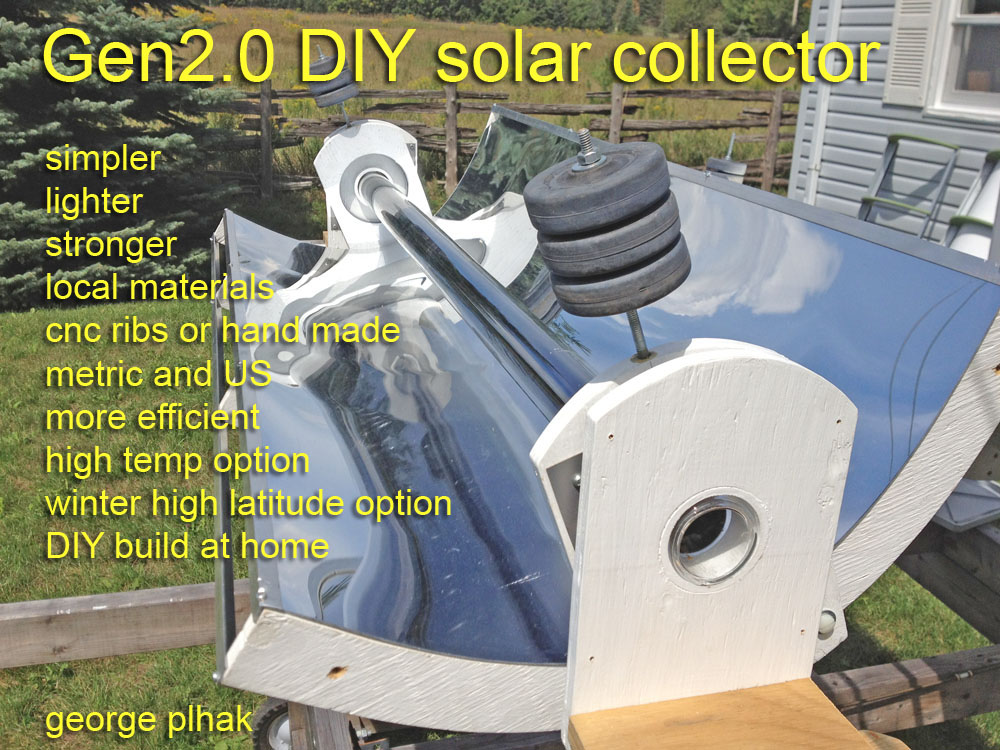 Georgesworkshop Diy Solar Parabolic Trough Gen2 Intro