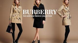 Burberry et ses tenues d'hiver