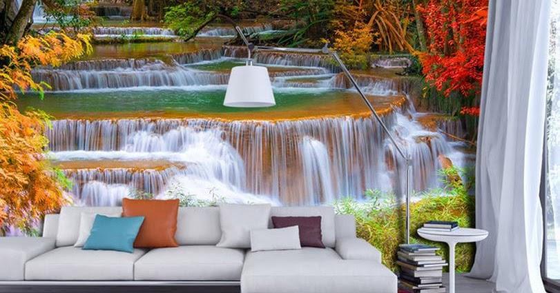 Murales de paisajes decorativos para salas decoraci n for Adornos decorativos para sala