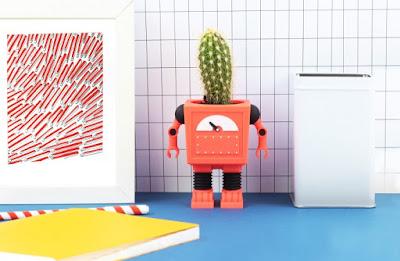 robots macetas