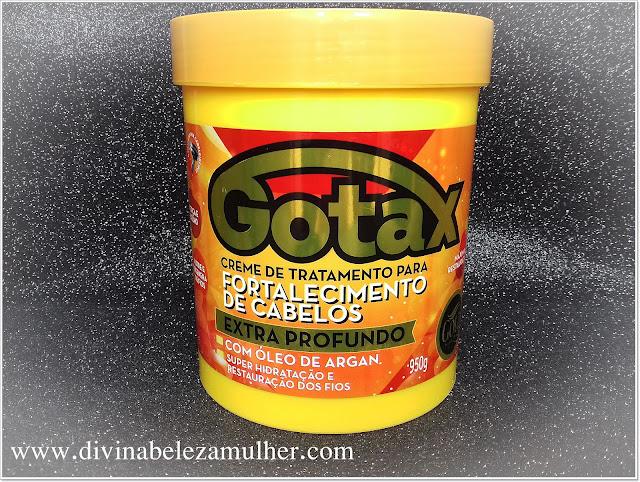 Creme de Tratamento Gotax Gota Dourada