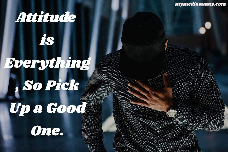 Best Attitude Status Quotes In English For Whatsapp Fb
