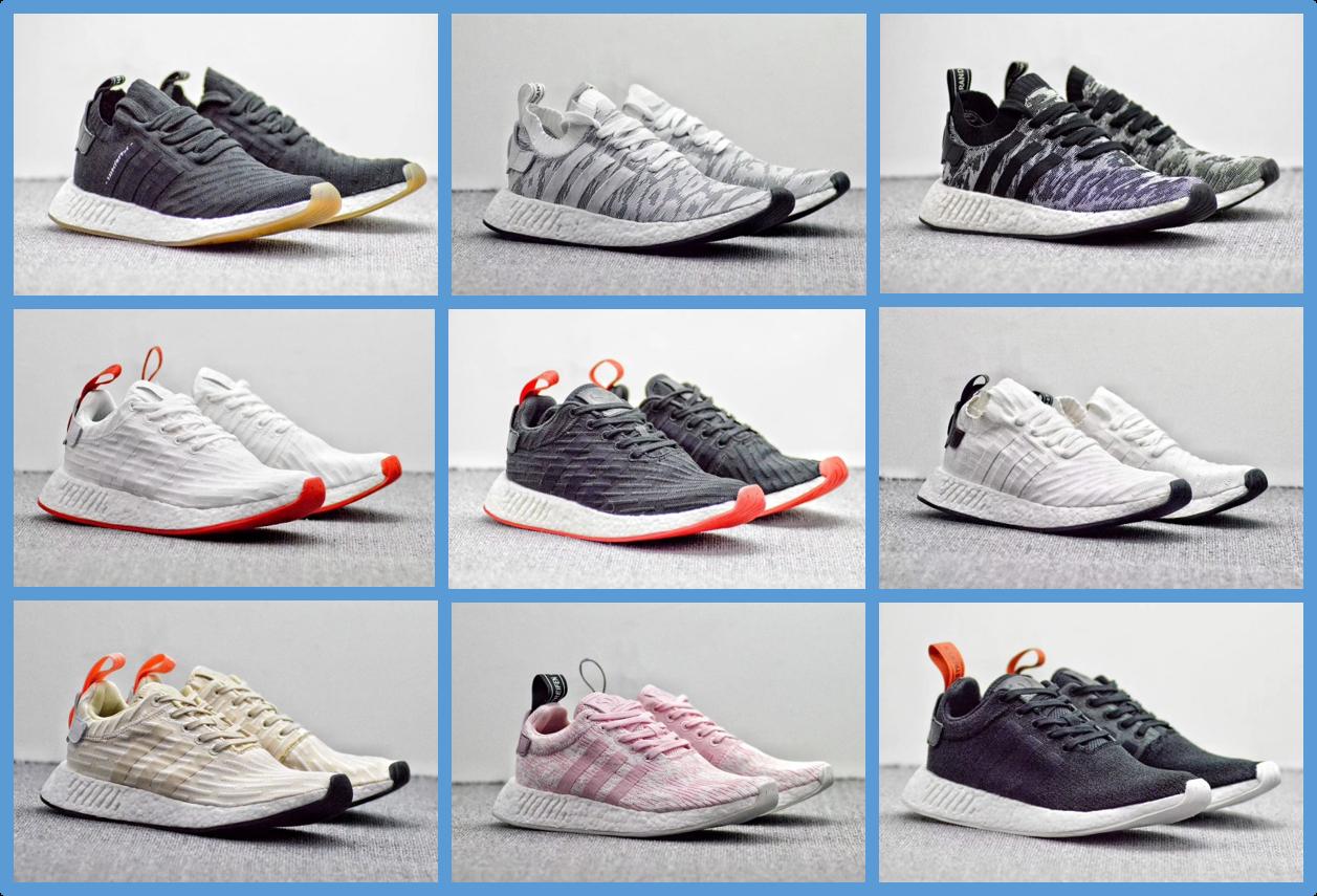 149fe8643 Catcibo Branded Shoes  Kasut Adidas NMD R2