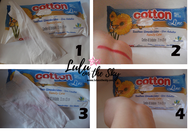 Cotton Line Toalhas Umedecidas Uso Adulto: eu testei - blog lulu on the sky
