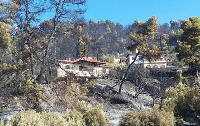 Αναζωπυρώσεις στην φωτιά της Κασσάνδρας - ΦΩΤΟ