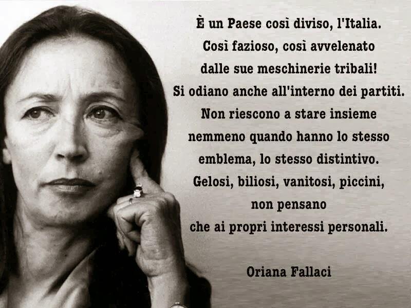 Oriana Fallaci Frasi Sull Amore