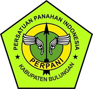 PERPANI Persatuan Panahan Indonesia Bulungan Logo Vector