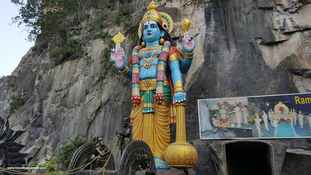 Vishnu statue in Batu Caves