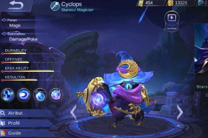 Sejarah Cyclops Tip dan Trik Buildnya Hero Mage Mobile Legends