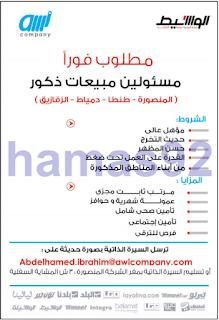 وظائف جريدة الوسيط الدلتا الجمعة 17-02-2017