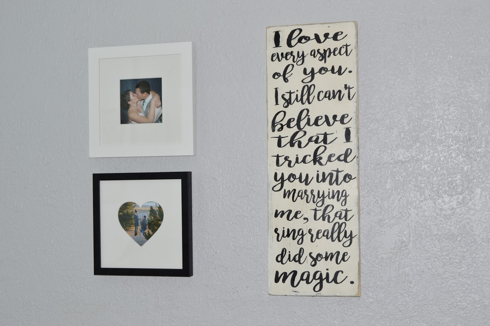 LoveHaight A Piece Of My Wedding Letter  Customized Signs From