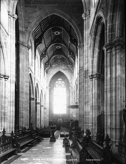 The Nave of St Andrew's Church Sydney