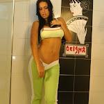 Andrea Rincon, Selena Spice Galeria 11 : Lycra Verde Foto 13