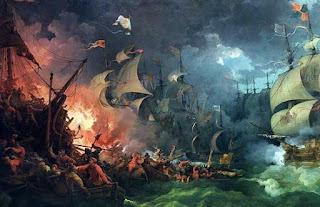 Batalla naval España - Inglaterra