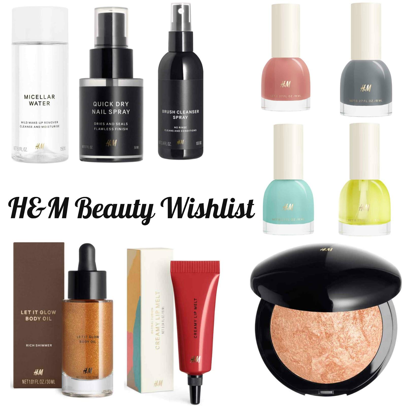 Wishlist   H&M Beauty