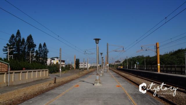 台鐵新埔車站-月台
