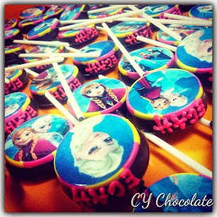 EDIBLE IMAGE OREO CHOCOLATE + WORDING