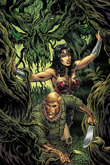 wonder woman steve trevor dc rebirth