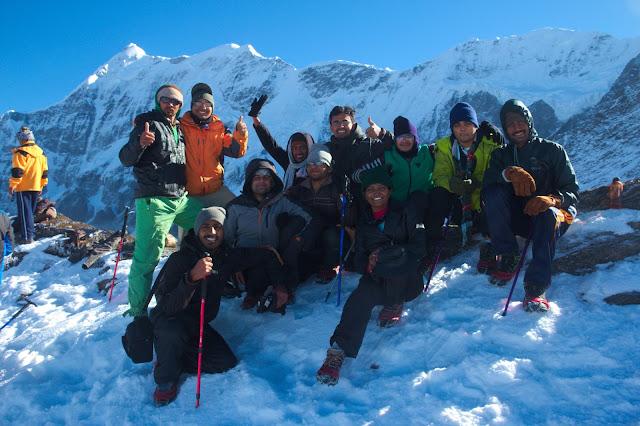 Pic : Group at Junargali with Chandarji