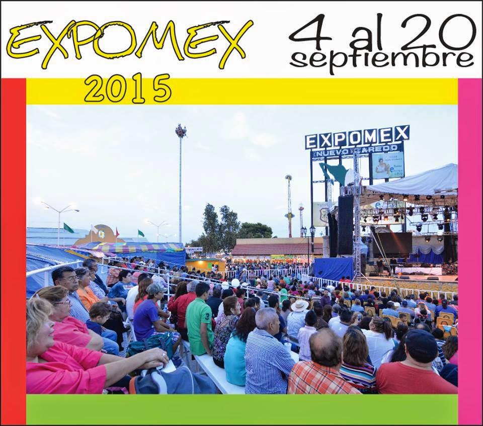 Feria Expomex 2015 Nuevo Laredo