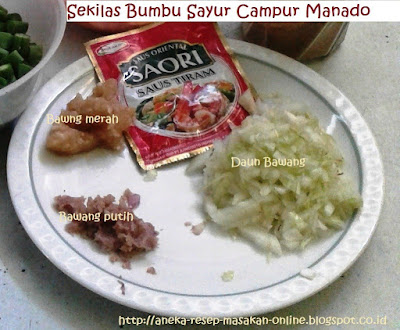 sayur campur Manado