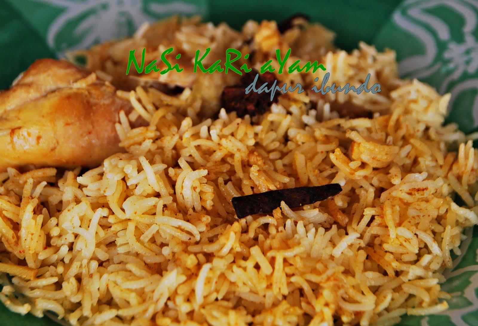 dapur ibundo: Nasi Kari Ayam