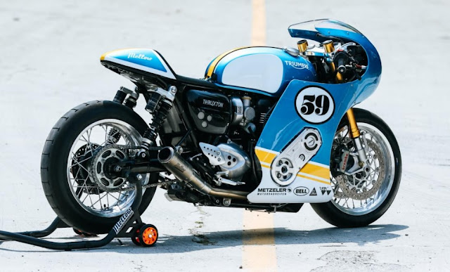 Triumph Thruxton R By Mellow Motorcycles Hell Kustom
