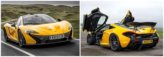 McLaren P1 frente e traseira