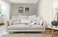 Contoh sofa untuk ruang tamu ukuran kecil - Model sofa modern ruang tamu kecil