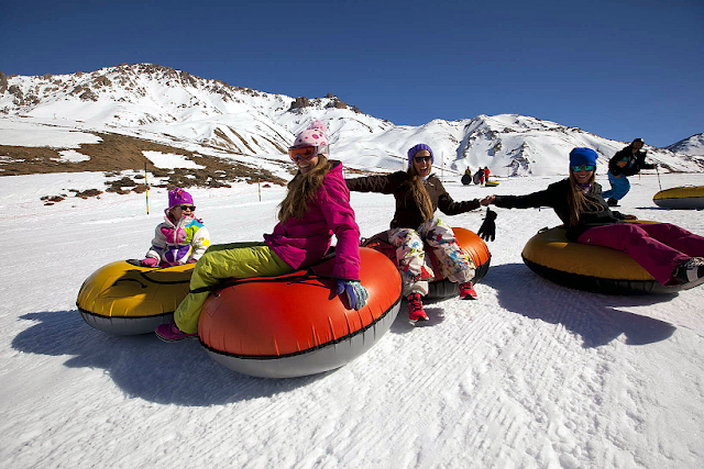Onde é a pista de esqui Las Leñas