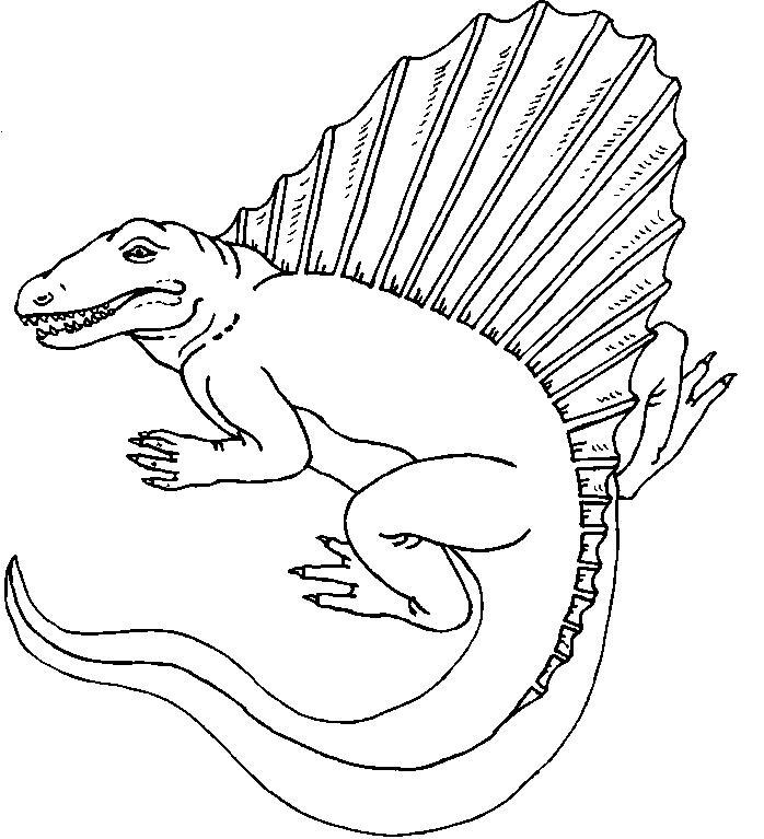 opinion album dinosaur coloring pages | Imagenes de dinosaurios carnivoros para colorear - Imagui