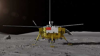 Chinese Spacecraft Chang'e-4