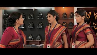 Sarayu Hot Saree Side View Photos