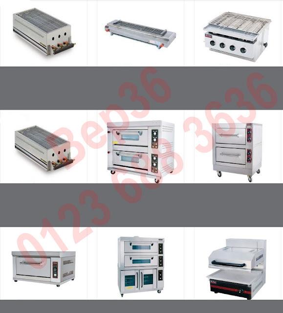 Một số mẫu lò nướng công nghiệp thông dụng