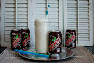 Sugar Free Low Carb Root Beer Float Recipe, Root Beer Float in a Mason Jar