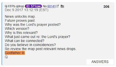 Q-PROOFS ABOUND - Global Developments Verify Q Anon as Massive and Visible Changes Unfold  Godfather%2BIII