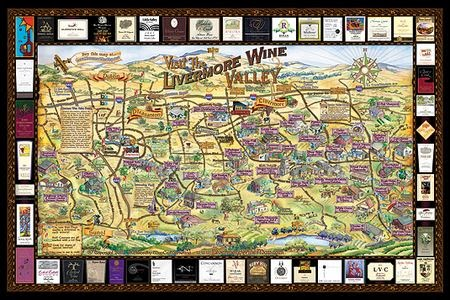 Livermore Wine Map