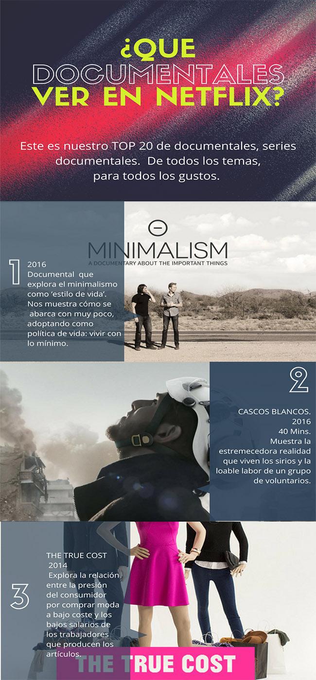 documentales paar ver en netflix 2018