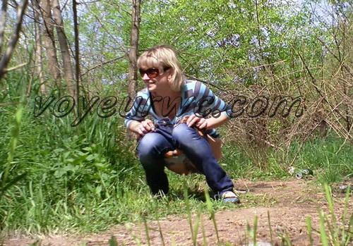PissHunters 8577-8592 (Outdoor voyeur peeing. Voyeur public toilet spy cam)